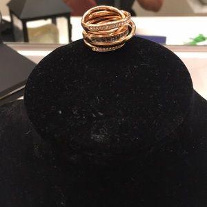 Matching Swarovski matching ring to necklace